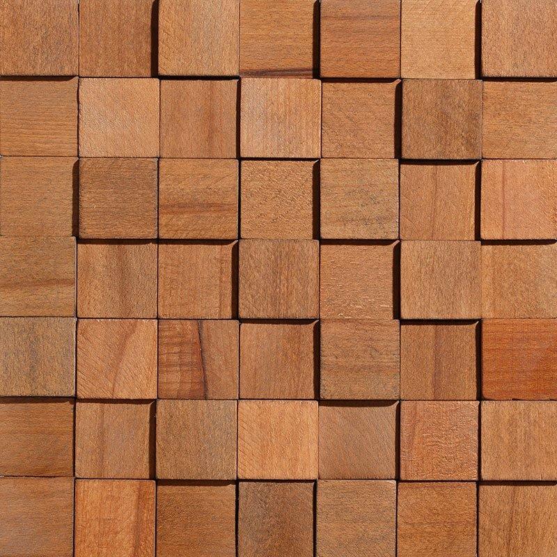 Sisustuspaneeli Wood Cube 1